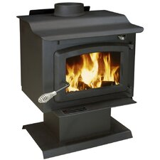 EPA Certified 1100 Square Foot Pedestal Wood Heater with Blower