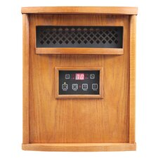 HomComfort 1,500 Watt Infrared Cabinet Electric Space Heater