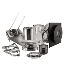 Duravent Duraplus Wall Chimney Set