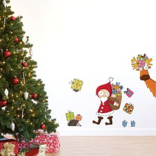 Christmas 2013 Santa Claus Decals