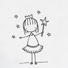 Piccolo Little Fairy Wall Decal
