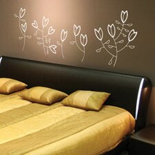 <strong>ADZif</strong> Spot Korall Flowers Wall Decal