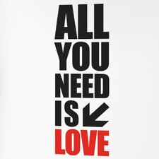 <strong>ADZif</strong> BlaBla All You Need Wall Decal