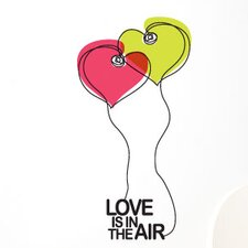 BlaBla Love is in The Air Wall Decal