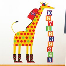 <strong>ADZif</strong> Piccolo Schooltime Giraffe Wall Decal