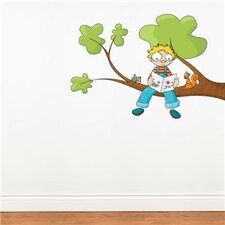 Ludo Tells a Story Wall Decal