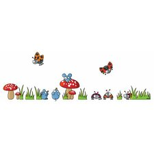 <strong>ADZif</strong> Ludo Mice and Ladybugs Wall Decal