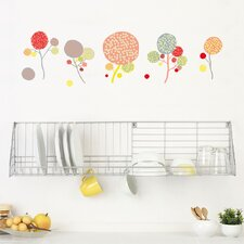 <strong>ADZif</strong> Spot Little Garden Pompom Flowers Wall Decal