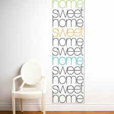 <strong>ADZif</strong> Unik Home Sweet Home Wall Decal