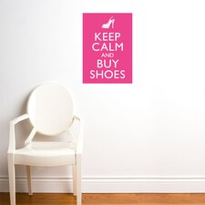 Blabla Buy Shoes Wall Stickers