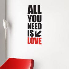 BlaBla All You Need Wall Decal