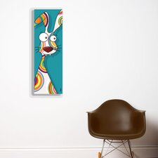Canvas Rabbit Wall Decal