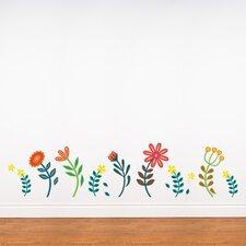 Spot Blooming Flowers Wall Sticker