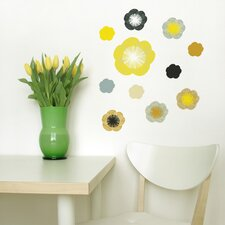 Spot Little Garden Solstice Flowers Wall Decal