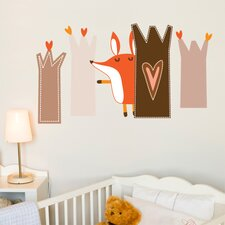 Piccolo Paolo Plays Hide and Seek Wall Sticker