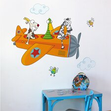 <strong>ADZif</strong> Ludo Friends in Flight Wall Decal