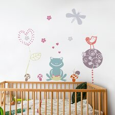<strong>ADZif</strong> Piccolo Frog Love Wall Decal