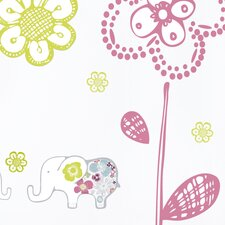 Piccolo Sweet Elephants Wall Decal