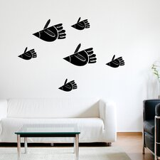 <strong>ADZif</strong> Spot Bird Fish Wall Decal