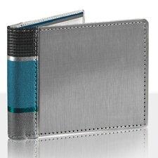 RFID Blocking New Stripe Bill Fold Wallet