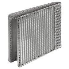 RFID Blocking Texture Slim Bill Fold Wallet