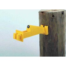Extend Wood Post Electric Fence Insulator