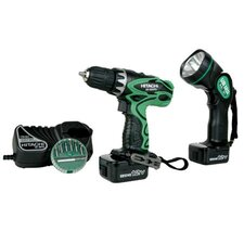 18V Driver Drill Kit with Flashlight