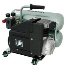 2 Gallon 1.5 HP Twin Stack Air Compressor