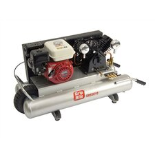 10 Gallon 5.5 HP Gas Honda Wheelbarrow Air Compressor
