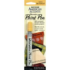 American Accents® Satin Buttercup Decorative Paint Pen