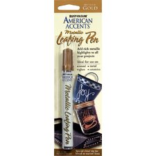 American Accents® Metallic Gold Leafing Pen