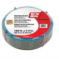 "<strong>Grip-Rite</strong> 1/4 "" Diameter 50 Foot Polyurethane Air Hose"