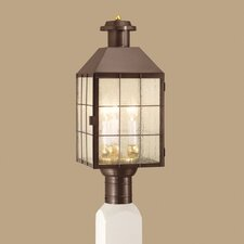 American Heritage 3 Light Outdoor Post Lantern
