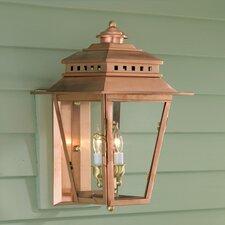New Orleans 2 Light Outdoor Wall Lantern