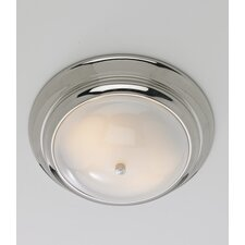 Clayton 2 Light Flush Mount
