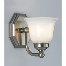 Trevi 1 Light Wall Sconce with Hexagon Shade