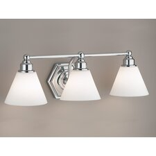 Jenna 3 Light Bath Vanity Light