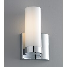 Wave 1 Light Right Side Wall Sconce