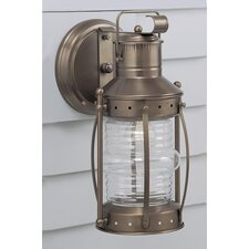 Seafarer 1 Light Outdoor Wall Lantern