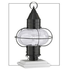 "Classic Onion 1 Light 14.5""Outdoor Post Lantern"