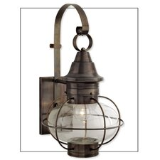 New Vidalia Onion Large 1 Light Outdoor Wall Lantern