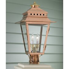 New Orleans 2 Light Outdoor Post Lantern