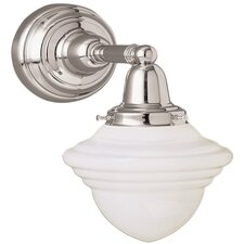 Bradford Schoolhouse 1 Light Wall Sconce