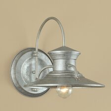 <strong>Norwell Lighting</strong> Small Budapest 1 Light Wall Sconce
