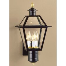Lexington 3 Light Outdoor Wall Lantern