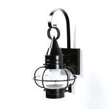 Classic Onion Small 1 Light Outdoor Wall Lantern