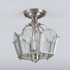 Legacy 3 Light Semi Flush Mount