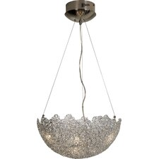 Moonstruck 6 Light Bowl Pendant
