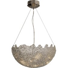 Moonstruck 9 Light Bowl Pendant