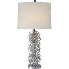 "Mingle 29"" H Table Lamp with Empire Shade"